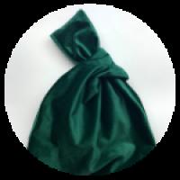 Бархатная сумка. Размер - 21,5 * 33см. Цвет - изумрудно-зеленый.